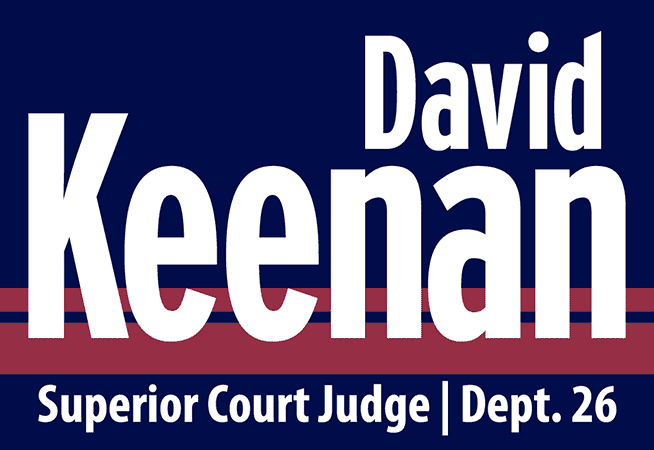 King County Superior Court Judge David Keenan